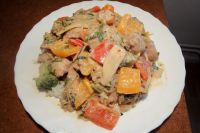 Thai-Curry mit Erdnuss