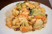 Currygemüse mit Tofu