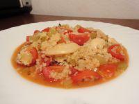 Minz-Couscous-Auflauf