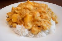Mango-Curry-Fisch