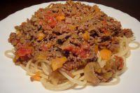 Spaghetti Bolognese (nach italienischer Art)