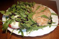 Fisch mit Käse-Birne-Nuss-Kruste