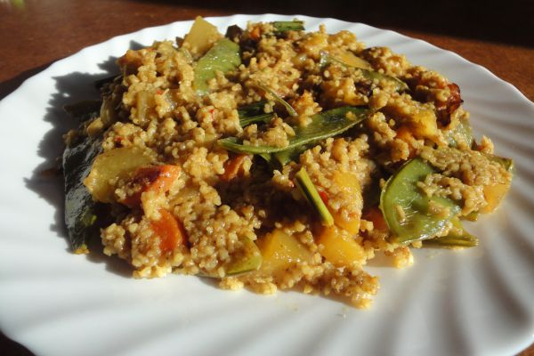 Curry-Mango-Couscous