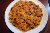 Puten-Pfirsich-Curry