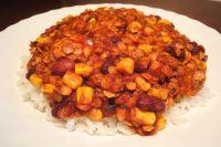Chili sin Carne mit roten Linsen