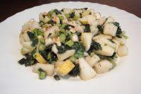 Birne-Mairüben-Walnuss-Salat